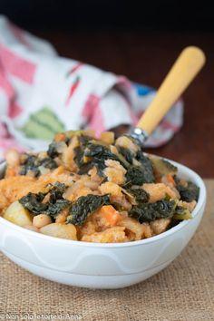 Ribollita toscana, zuppa toscana con cavolo nero, ricetta ribollita, ricetta toscana, primo piatto - #cavolo #ribollita #ricetta #toscana #zuppa - #ZuppaToscanaSuppe