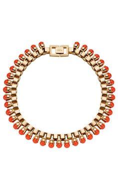 Mawi Single Claw-Set Neon Pearl Necklace at Moda Operandi