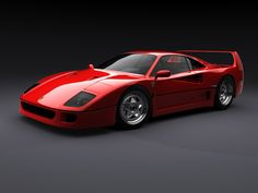 The F40 was built from 1987-1992. 1,315 in total.