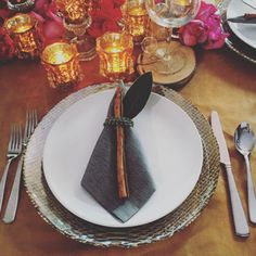 To save money on rentals while maintaining a *fancy* vibe, go for upscale disposable napkins. | 9 Genius Money-Saving Wedding Tips You Haven't Thought Of