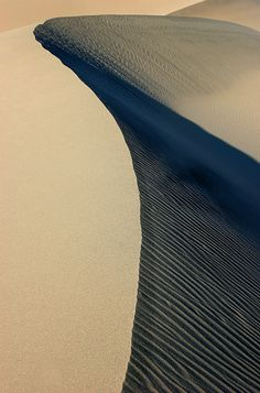 Dune Curve, Death Valley