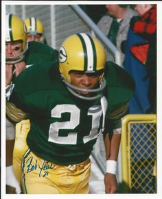 Bob Jeter Green Bay Packers Signed Auto 8x10 Photo Autograph