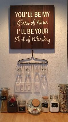 Rake wine glass holder