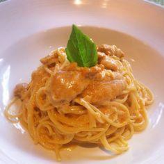 Spaghetti ai Ricci di Mare (Uni Spaghetti) at Arancino Ristorante Italiano