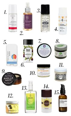 I tried them so you didn't have to! 15 all Natural Deodorants that actually work! | Nutrition Stripped