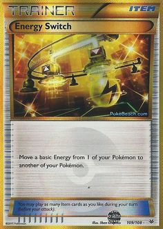 Energy Switch 109/108 Secret Rare - XY Roaring Skies PREORDER SHIPS 5/8 #Pokemon