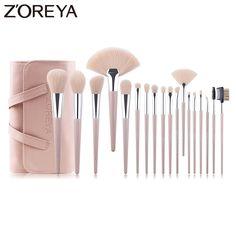 Contour Brush, Lip Brush, Brush Set, Makeup Brush Uses, Eye Makeup, Hair Makeup, Makeup Blending, Makeup Supplies, Brown Hair Balayage