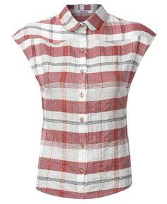 Relaxed-fit blouse with a nice checked pattern. Cut from the softest cotton. Made from tactile check cotton voile.