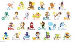Star Wars alphabets
