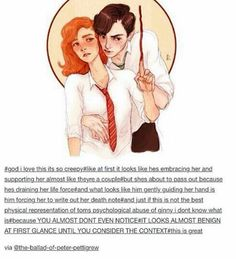 The chamber of secrets Tom riddle and ginny - Harry Potter Harry Potter Fan Art, Harry Potter Fandom, Harry Potter Universal, Harry Potter Memes, Harry Potter World, Potter Facts, Drarry, Tolkien, Percy Jackson