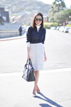 Anh from 9to5Chic layers our A List collection like a pro.
