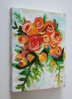 Katherine Miller, 11x14 acrylic on canvas #rusticcanvaspainting