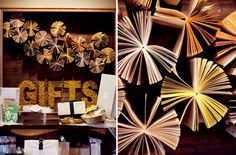 string art and books