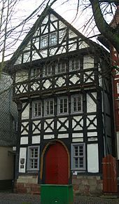 Bad Hersfeld – ältestes Fachwerkhaus, errichtet 1452