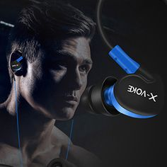 Waterproof Sport Stereo Bass ear Hook Earphone Headset  Running with Mic for Mobile Phone ecouteur Ear phone