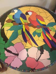 Mosaic Crafts, Mosaic Projects, Mosaic Art, Mosaic Ideas, Bowling Ball, Golf Ball, Frat Coolers, Mosaic Designs, Mosaic Tables