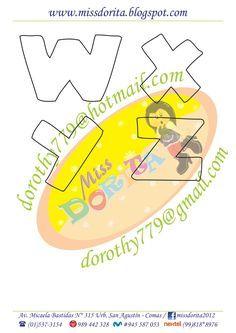 A pedido de muchas de ustedes, les traigo este abecedario, espero que  sea de su agrado y lo empleen para decorar lo que ustedes desean, es ... Hand Lettering Fonts, Doodle Lettering, Creative Lettering, Brush Lettering, Lettering Design, Letras Cool, Love Doodles, Bubble Letters, Spring Crafts