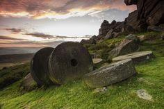 https://flic.kr/p/d7aG8Y | Millstones at Sunset | Stanage edge walk with Rob and…
