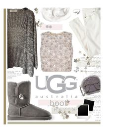 """""""Boot Remix with UGG : Contest Entry"""" by charcharr ❤ liked on Polyvore featuring mode, UGG Australia, Judith Jack, Halogen en J.Crew"""