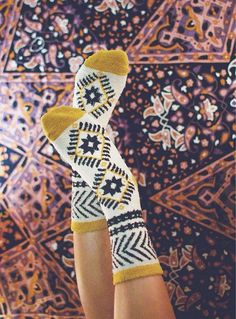 oliviamegalis Smart Women Never Go for Boring Socks, Do You? They say that socks outline one-s chara