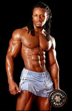 "This guy's name is Ulisses Wiliams, Jr. He's a celebrity trainer, professional bodybuilder, and fitness model based out of New York. He was voted in a worldwide poll as being ""The most aesthetic male in the world""."
