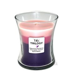 Woodwick Candles | Woodwick Candle Wild Berry Smoothie Medium Trilogy