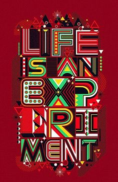 Life is an experience!