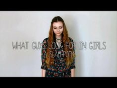 AMAZING slam poem by a 17 year old girl about body image. MUST WATCH. So many feelings.