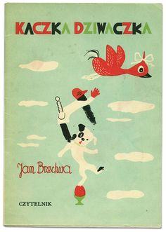 Polish Children's book: Kaczka Dziwaczka | Jan Brzechwa | Franciszka Themersonowa