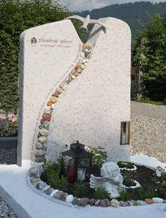 Image result for modern headstone designs