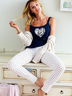 03f050b555 Women's Pajamas - Silk, Cotton, Thermal & More - Victoria's Secret.  BeyonceRihannaKim KardashianPigiama NataliziMattina Di ...