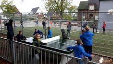 Pingpongtafel Afgerond Groen bij Brede School Antonius De Vecht in De Vecht