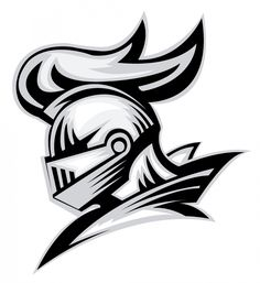 Use these clipart knight head. Knight Drawing, Hockey Logos, Sports Logos, Knight Tattoo, Knight Logo, Knights Helmet, Warrior Quotes, My Images, Adobe Illustrator