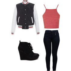Untitled #19 by liliamperera on Polyvore featuring polyvore, fashion, style, Topshop, Thom Browne and Armani Jeans