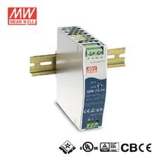 Single Phase 60W DIN Rail Power Supply 85-264VAC//120-370VDC I//p 12vDC o//p 4.5A 3 Year Warranty