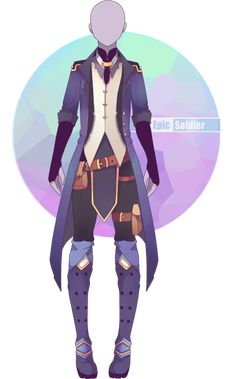Custom outfit commission 43 by Epic-Soldier