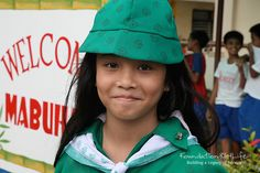 A student who is part of the Girl Scout Program.