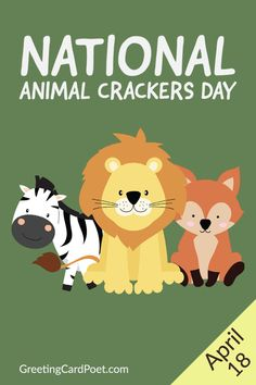 The delicious snack was first made in the UK during the beginning of the 1800s and was imported to various countries. However, in the United States, they first started being manufactured in 1871 by D.F. Stauffer Biscuit Company in York, Pennsylvania. Learn all about animal crackers including jokes, captions, quotes, and FAQs. #animalcrackers #quotes #jokes