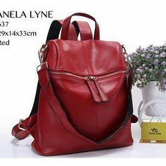 ANEL@ LYNE tas ransel multi fungsi[ Semi Premium ] cek stock whatsapp 0812 9453 4848 Leather Backpack, Backpacks, Bags, Fashion, Handbags, Moda, Leather Book Bag, La Mode, Women's Backpack