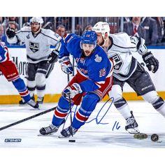 Derick Brassard Signed 2014 Stanley Cup Final 8x10 Photo