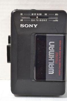 Sony Walkman WM-F2015 FM/AM Radio Cassette Player, Works Great! Made in Japan!  #Sony