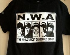 #n.w.a #t-shirt #hip hop #straight out of compton