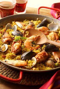 Seafood paella recipes easy