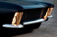 Vintage Cars Flat Black 1963 Buick Riviera Customized by Fesler Just Exudes Menace - Carscoops - It's really hard to innovate in the world of modified muscle cars,… Supercars, 1965 Buick Riviera, Automobile, Jaguar, Buick Cars, Mustang, Us Cars, Sport Cars, Car Travel