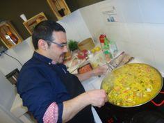 #Paella #barcelona #graciacity #spanish Mixed Paella only in Gracia City Hostel