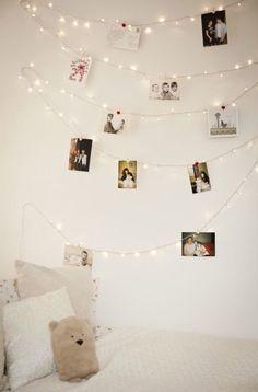 Very tumblr wall decor idea.