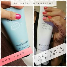 **SUNDAY SPECIAL** Buy a mudmask, get a whitening toothpaste half price #beauty #deals #shopping #bankholiday