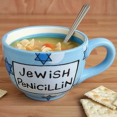 Jewish Penicillin Mug- perfect for Matzah Ball soup, no?