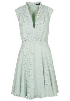 French Connection MEMPHIS SPRAY - Dress - green - Zalando.co.uk