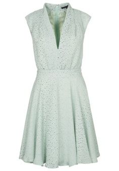 French Connection MEMPHIS SPRAY - Dress - green - Zalando.co.uk